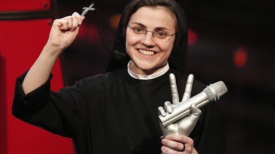 "Finale ""The Voice of Italy""  Nonne Cristina Scuccia gewinnt Plattenvertrag"