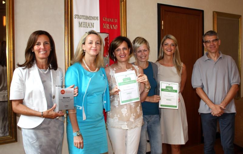 I siti internet turistici premiano Merano – Buongiorno Südtirol