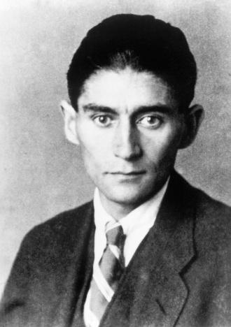 Der große Schriftsteller Franz Kafka