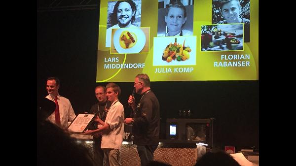 Talentierter Kaiserhofschüler wegen besonderer Kochkünste im Ausland ausgezeichnet