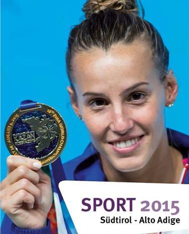Tutte le emozioni dello sport altoatesino nell'annuario 2015