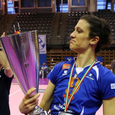 Il Neruda Volley riporta a Bolzano la schiacciatrice Valeria Papa