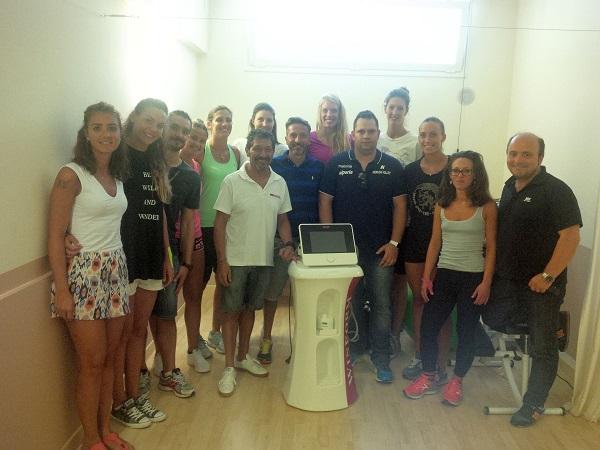 Oggi a Rimini prime visite e test medici per sette giocatrici del Neruda Volley Bolzano