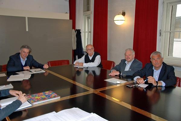 Seniorenbeirat im Gespräch mit Vertretern des Gesundheitsbezirkes Bozen.