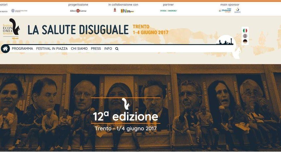 Trento. La Fondazione Bruno Kessler al Festival dell'Economia