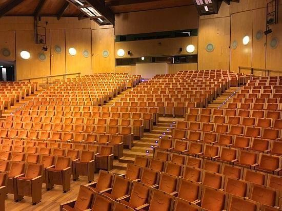 Trento. Auditorium S. Chiara, rinnovati camerini e sala regia