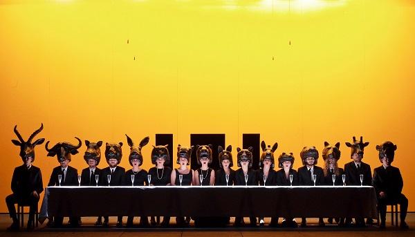 """Bozen. Italienische Erstaufführung der Oper """"Die Antilope"""" von Johannes Maria Staud im Bozner Stadttheater"""