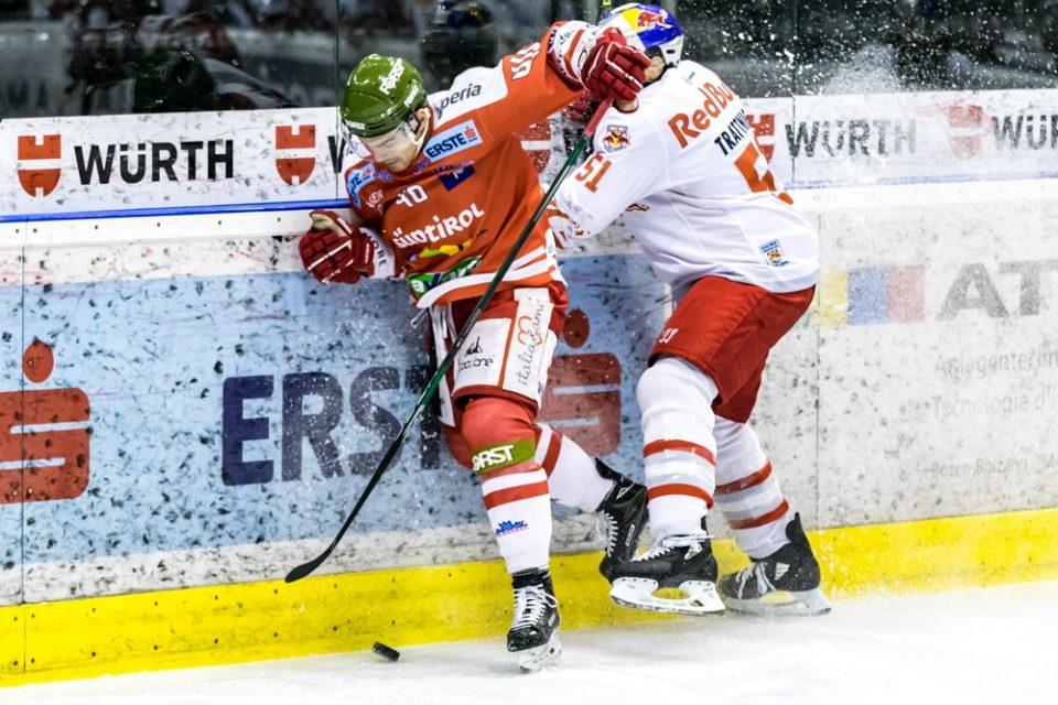 Il Salisburgo la spunta di misura al Palaonda, Bolzano battuto 3 a 2