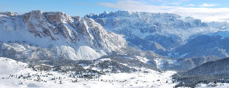 """È arrivata la neve e all'Hotel Gardena di Ortisei fioccano i pacchetti  speciali """"première"""""""