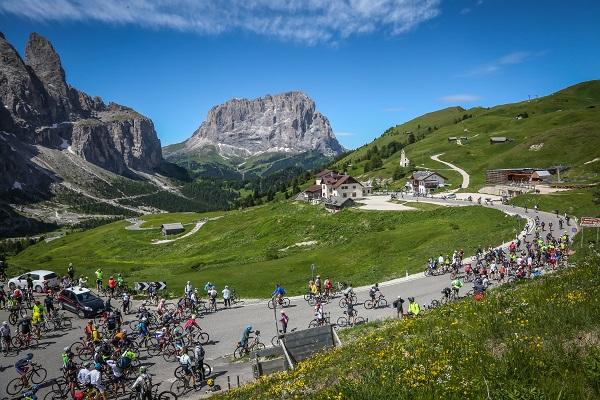 Numero record di partecipanti al 13° Sellaronda Bike Day