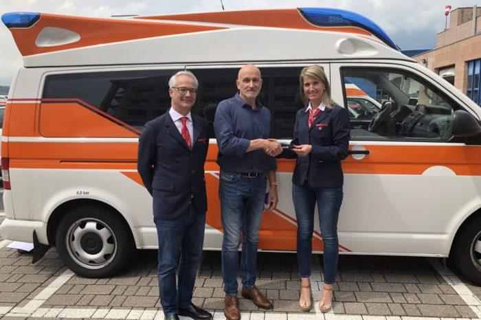 Bolzano. Croce Bianca dona un'ambulanza per l'Uganda