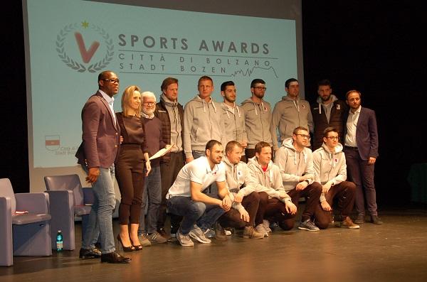 Bolzano. Consegnati i riconoscimenti ai campioni dello sport cittadino