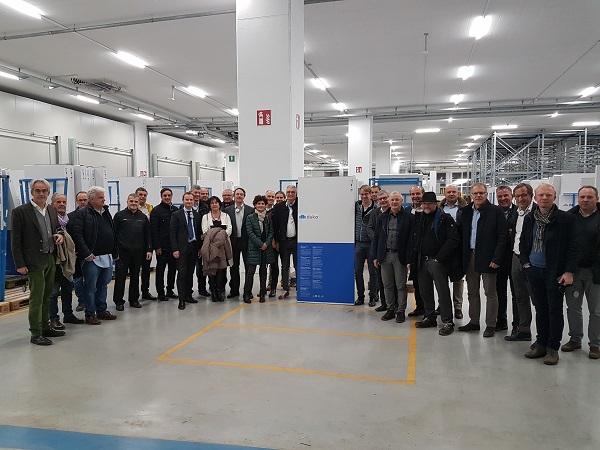 Digitalizzazione in azienda, visita alla nuova sede duka a Bressanone