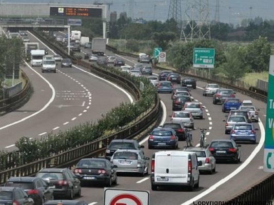 Bolzano. A22, traffico da bollino nero oggi in entrambe le direzioni
